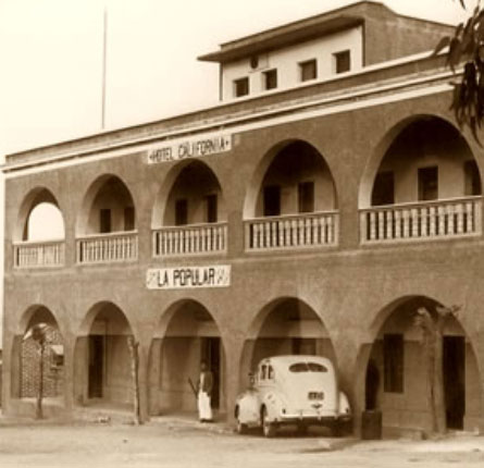 Legendary Hotel California, Established 1948